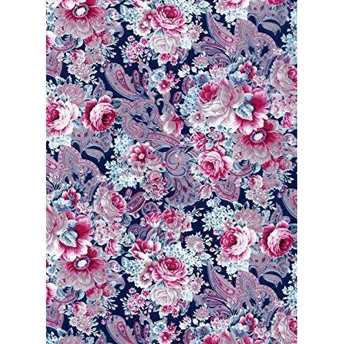 Decopatch Decoupage Printed Paper 381 x 305mm Fda592 Flowers And Lace -  decopatch paper ref 592 flowers lace decoupage printed sheet pinkwhiteblue