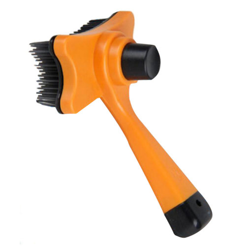Pet Supplies Cats Dogs Grooming Dematting Tools Massage Combs Brushes-Orange