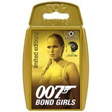 Top Trumps Bond Girls Family Card Game Brand New Sealed