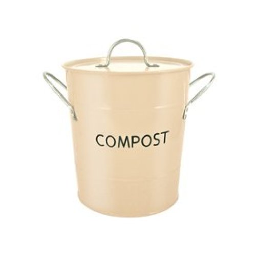 Buttercream Compost Pail Bucket - Eddingtons -  compost pail eddingtons buttercream