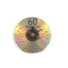 CD Clock 60th Years Old