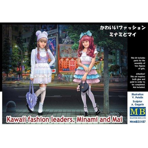 Mas35187 - Masterbox 1:35 - Kawaii Fashion Leaders Minami and Mai