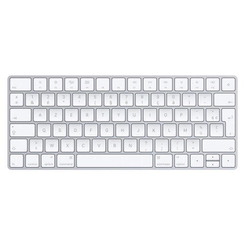 Apple MLA22 Bluetooth French Silver,White keyboard