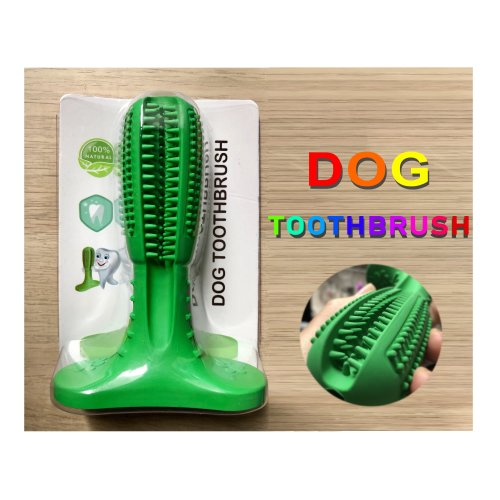 Tutoo Dogs Toothbrush Dog Tartar Remover Dog Dental Chew Toy Dog Teeth Cleaning Dog Brushing Stick for small to medium dogs