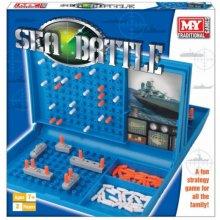 Sea Battle Family Game Children Adults Fun Guess