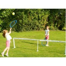 Traditional Garden Games Jumbo Garden Tennis Set With Net and Balls