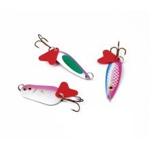 Pack Of 2 Gone Outdoors Fishing Spinners - Set Boyz Tackle Lure Toys Soft Treble -  pack 2 fishing spinners set boyz tackle lure toys soft treble