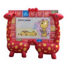 Lovely Giraffe Baby&Kids Picture Frame Photo Frames Plastic Frames,Red
