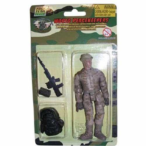 World Peacekeepers Single Military Figure & accessories