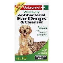 Vetzyme Anti-Bacterial Ear Drops & Cleanser
