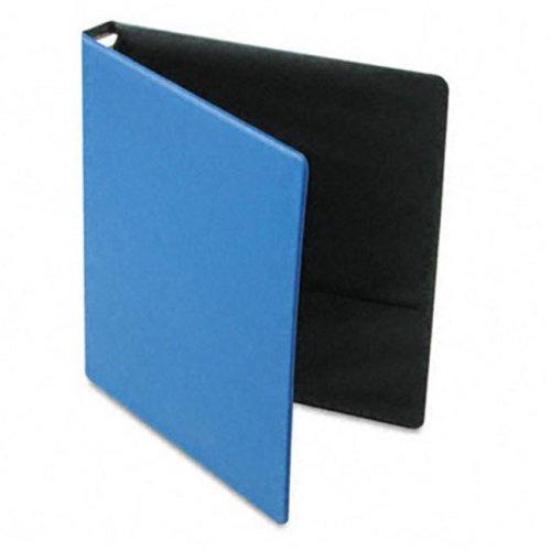 EasyOpen Locking Round Ring Binder  8-1/2 x 11  1in Cap  Medium Blue