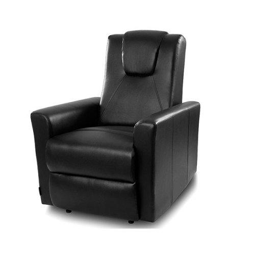Black Massaging Easy Chair Cecorelax 6151