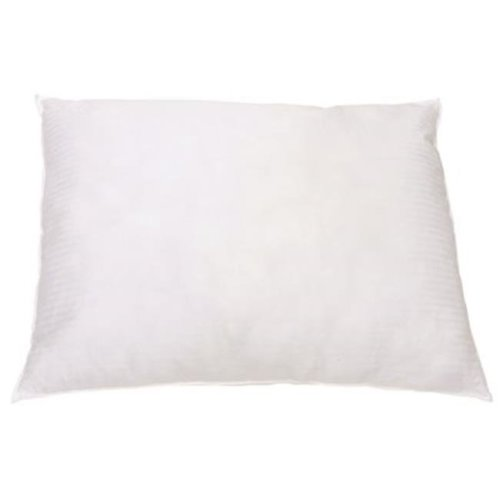 Ganesh Mills 3572243 Oxford Gold Collection White Pillow, Standard, 20 x 26 in. - 12 Per Case