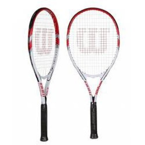 "Wilson Federer 106 Tennis Racket Grip L2 4 1/4"""