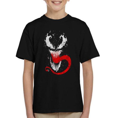 Venom Splatter Symbiote Kid's T-Shirt