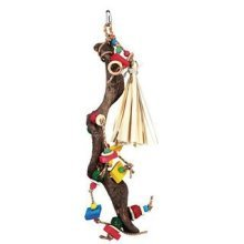 Trixie Wooden Toy With Wicker Balls, 56 Cm. - Natural -  toy trixie natural