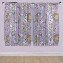 Character World 72-inch Disney Frozen Crystal Curtains - Bedroom 72 Elsa -  frozen disney curtains crystal bedroom 72 character elsa