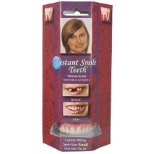 Instant Smile Teeth Small Deluxe Top Veneers Fake Cosmetic Dr Bailey's Fitting -  instant smile teeth small dr baileys false cosmetic fake oral deluxe