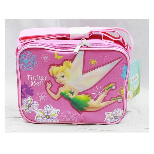 Lunch Bag - Disney - Tinkerbell - Pink New Case Girls Gifts Licensed a01545