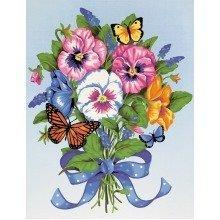Dpw91394 - Paintsworks Learn to Paint - Pansy Bouquet