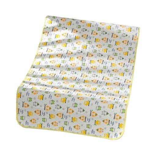 Set of 2 Waterproof Baby Diaper Changing Pads Diaper Liners YELLOW, 30x45cm