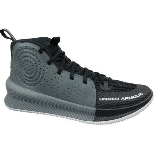 Under Armour Jet 3022051-001 Mens Grey basketball shoes