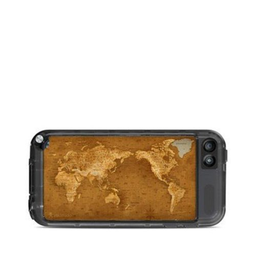 DecalGirl LIT5-UPSIDEDOWNMAP Lifeproof iPod Touch 5G Case Skin - Upside Down Map