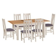 Portland Extending Dining Table & 6 Chairs