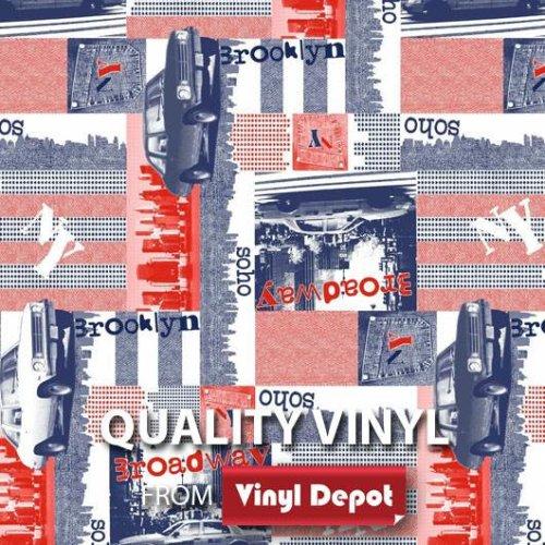d-c-fix Sticky Self-Adhesive Decorative Vinyl Fablon Broadway 450mm/m