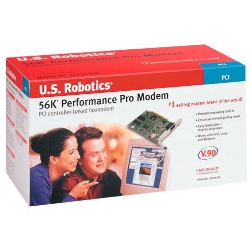 U S Robotics 56K V90 PCI Performance Pro Faxmodem DosNTnux