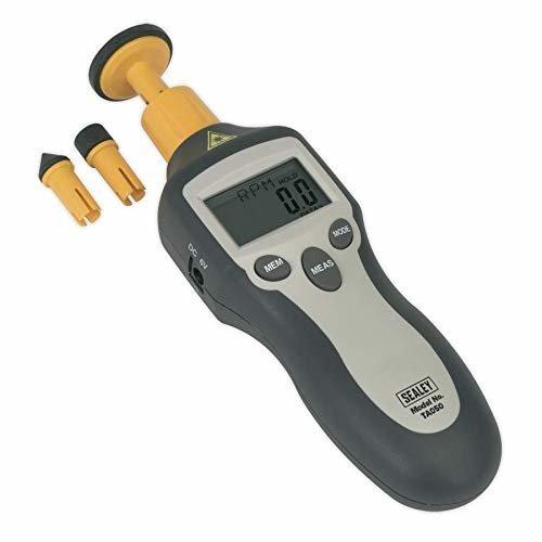 Sealey TA050 Digital Tachometer Contact/Non-Contact