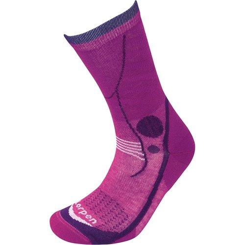 Lorpen Womens T3 Light Hiker Socks Violet (Small UK 3.5-5.5)