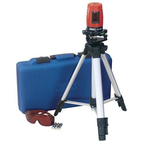 Draper 88640 Self Levelling Cross Line Laser Level Kit