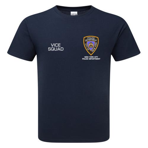 USA NYPD Vice Squad Premium Quality T-shirt