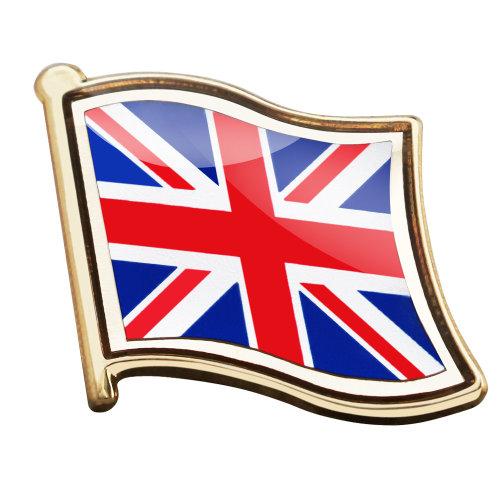 Metal UK Flag Pin Badge Enamel Team GB Country Union Jack TRIXES