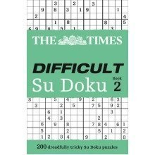 The Times: Difficult Su Doku: Bk. 2