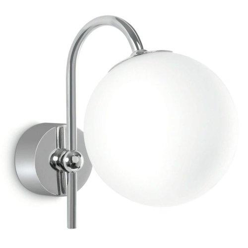 Philips myBathroom Wall Lamp Silvery Chrome and White 340861116