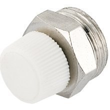 "1/4"" 3/8"" 1/2"" Manual Radiator Air Vent Bleed Plug Valve No Need Key"