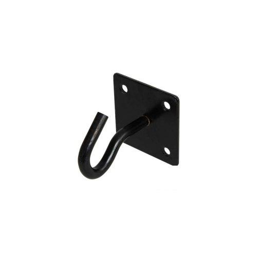 Chain Plate - Hook 50mm x 50mm Black