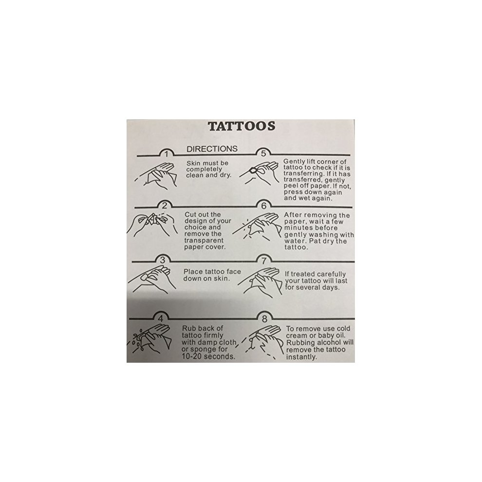 3d417ba4acbcd Harry Potter Death Eaters Snake-Shaped Temporary Tattoo Body Graphics 5  Sheets. >