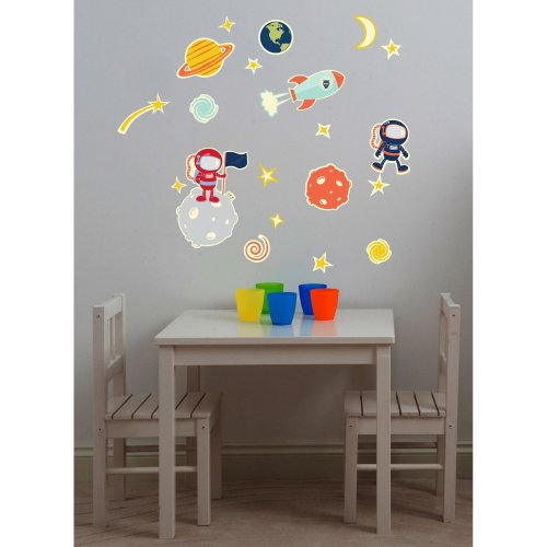 Suncrest FunToSee Glow In Space 21 Wall Stickers