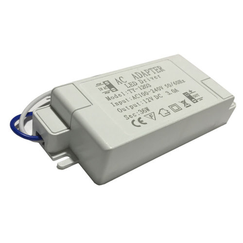 36W Compact LED Driver AC 230V to DC12V Power Supply Transformer