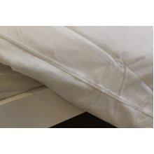 Polypropylene Waterproof Zipped Duvet Protector