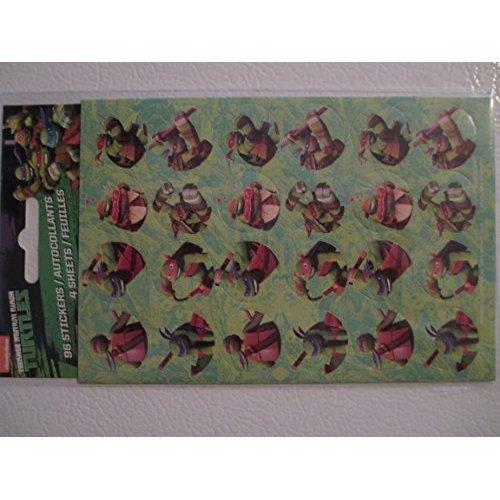 96 Teenage Mutant Ninja Turtles Stickers