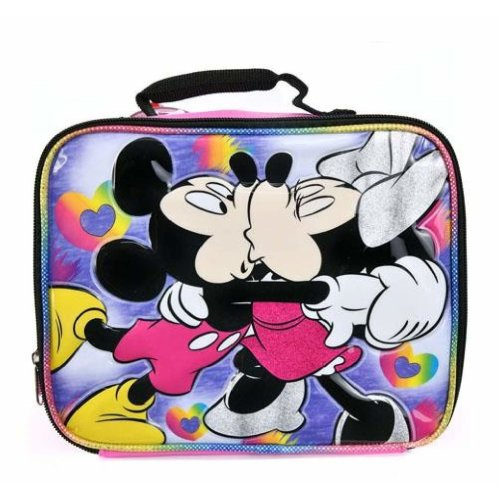 Lunch Bag - Disney - Mickey & Minnie Mouse Kiss Kiss