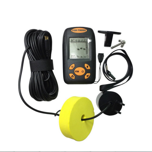 Handheld Fish Finder Remote Fishfinder Wired Sonar Sensor Transducer