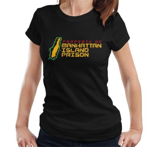 Manhattan Island Prison Escape From New York Women's T-Shirt