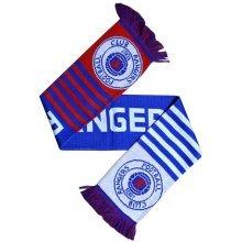 Rangers Word Mark Scarf - Multi-colour, One Size - Fc Football Wm Official Club -  scarf rangers fc football wm official club new wordmark licensed