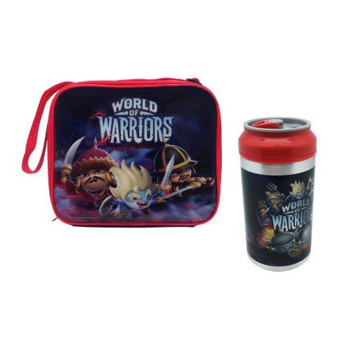 Polar Gear World of Warriors Rectangular Lunch Bag & Drink Can