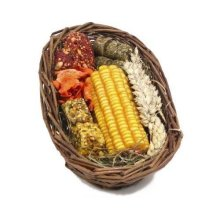 Rosewood Boredom Breaker Natural Treat Willow Treat Basket